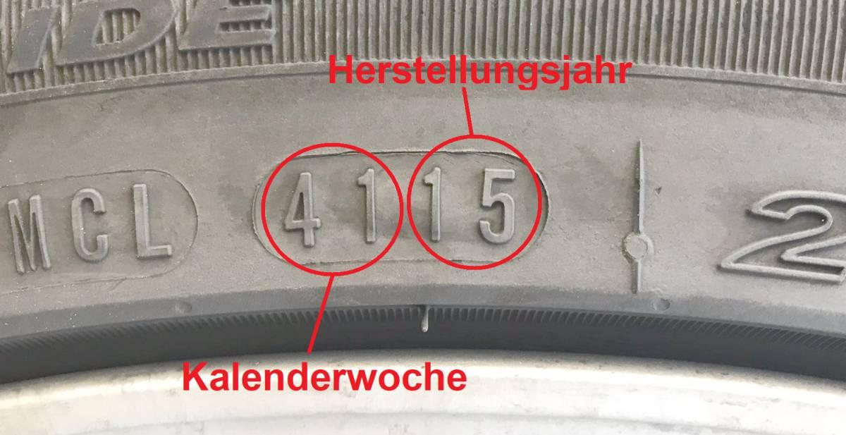DOT-Nummer bei Reifen