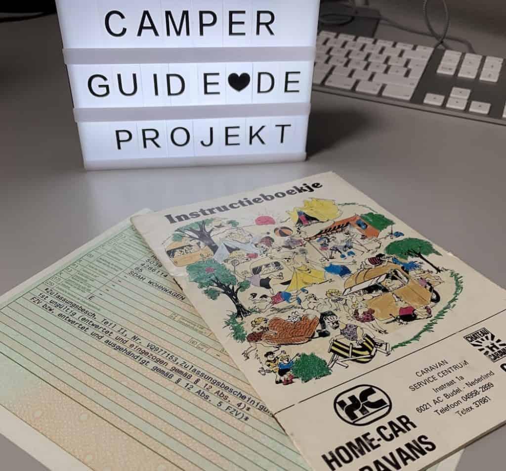 Camper-Guiden Wohwagen Renovierung